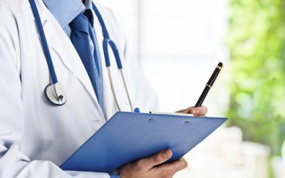 Cuestionario de salud al suscribir un seguro de vida.